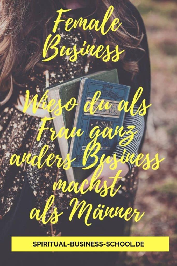 Business - The Female way: Wieso du mit dem Flow gehen darfst