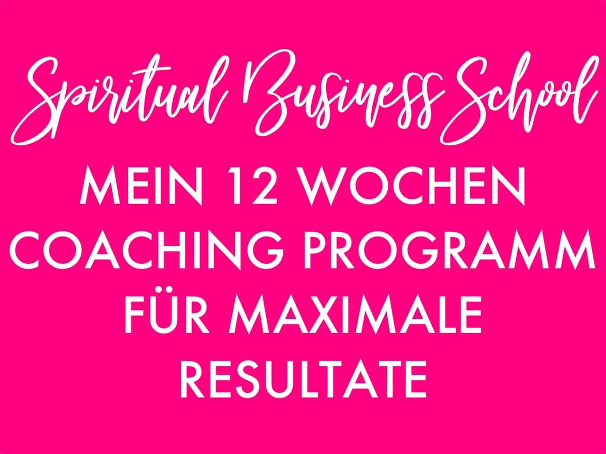 Spiritual Business School
