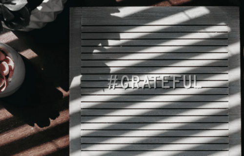 Das Mantra der Dankbarkeit