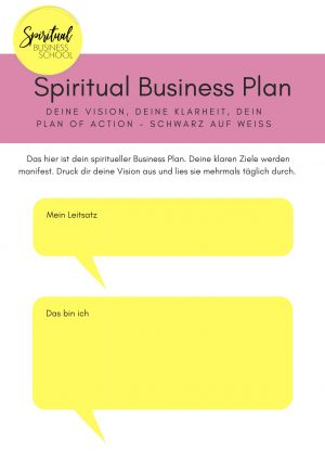 SBS_Spiritual Business Plan